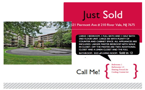 JUST SOLD 521 Piermont AVe # 210